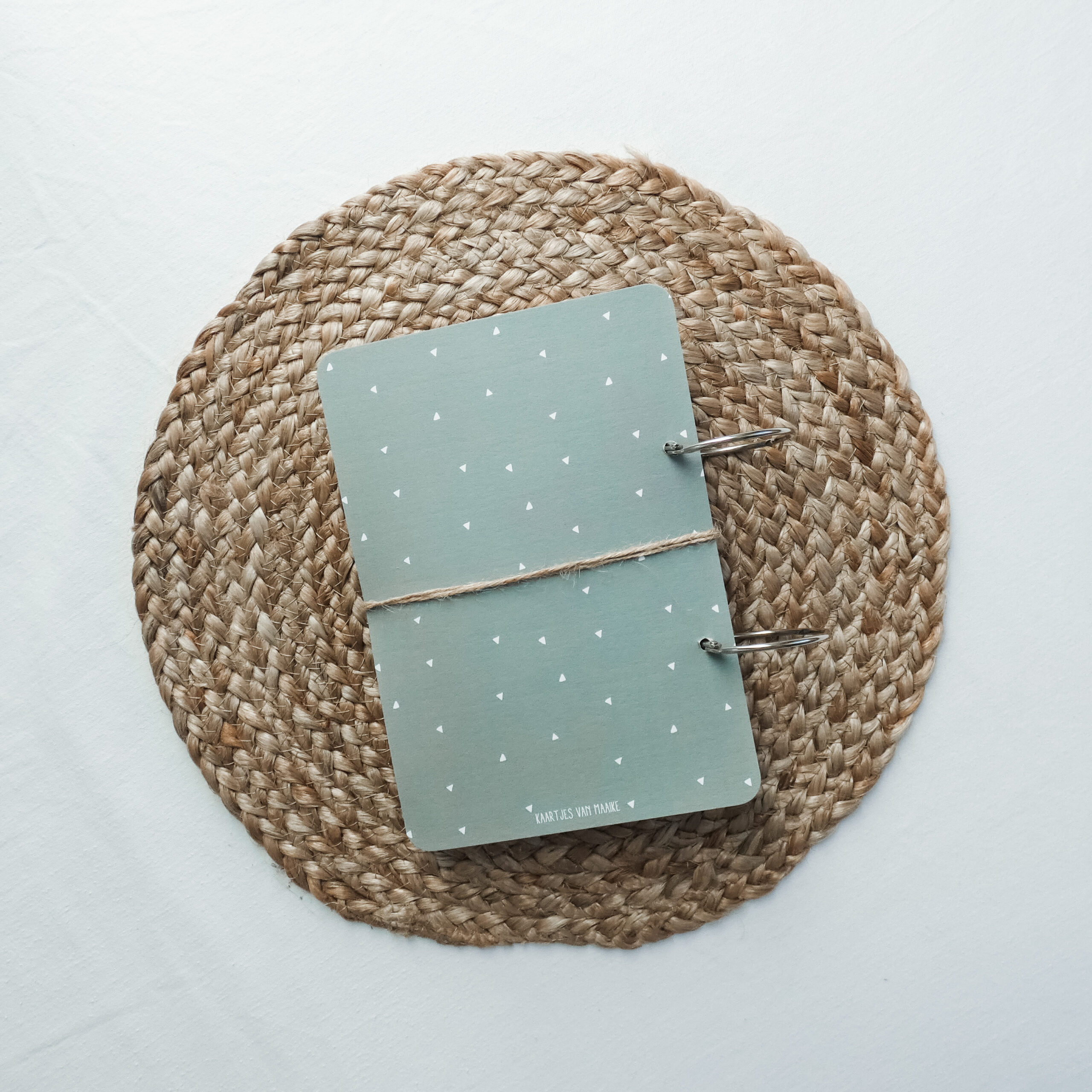 kaartenbundel-geboorte-groen-achterkant