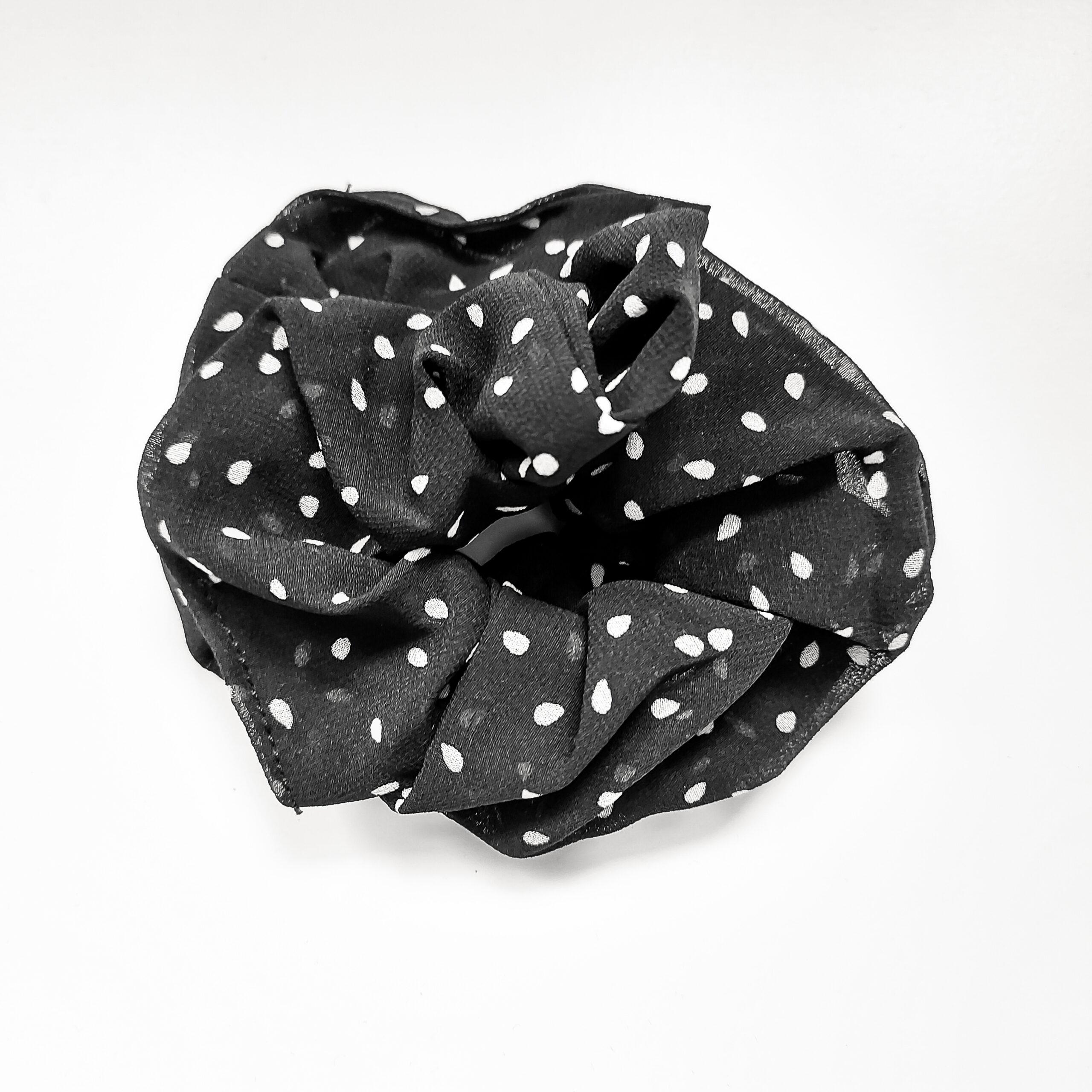scrunchie-dots-zwart
